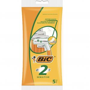 BIC 2 APARATE DE RAS SENSITIVE – 5 BUC